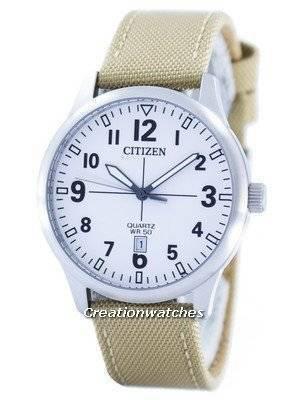 Citizen Quartz White Dial BI1050-05A Men's Watch