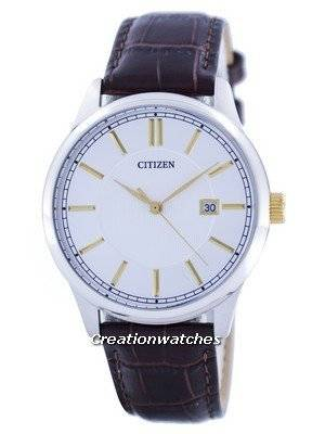 Citizen Quartz Silver Dial BI1054-04A Men's Watch