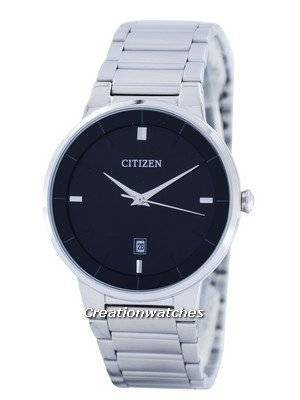 Citizen Quartz Black Dial BI5010-59E Men\'s Watch