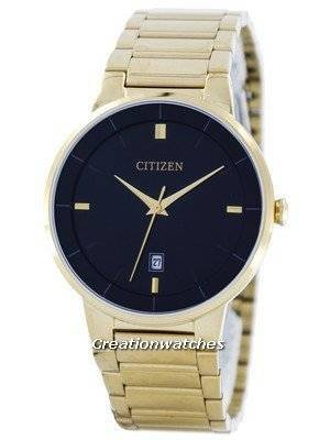 Citizen Quartz Black Dial BI5012-53E Men's Watch