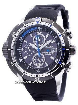 Citizen Promaster Eco-Drive Aqualand Diver BJ2120-07E BJ2120-07 BJ2120 Men\'s Watch