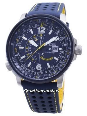 Cidadão Anjos Azuis BJ7007-02L Eco-Drive 200M Relógio Masculino