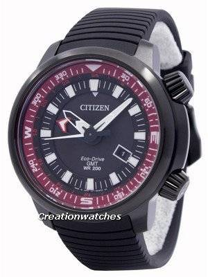 Citizen Eco-Drive Promaster GMT 200M BJ7086-06E Men's Watch