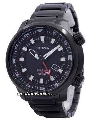 Citizen Eco-Drive Promaster GMT 200M BJ7086-57E Men's Watch