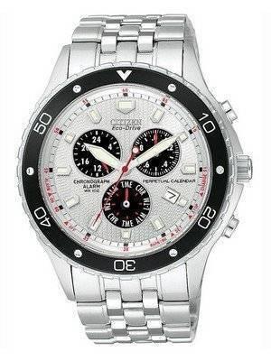 Citizen Eco-Drive Perpetual Calendar Chronograph BL5290-59A Mens Watch
