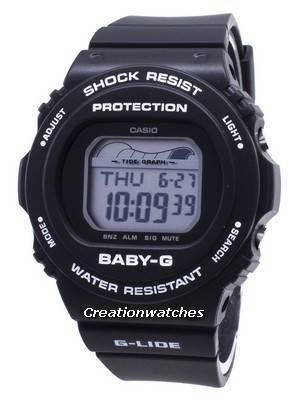 Casio Baby-G G-Lide BLX-570-1 BLX570-1 Shock Resistant 200M Women's Watch