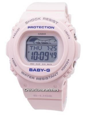 Relógio Casio Baby-G G-Lide BLX-570-4 BLX570-4 resistente ao choque 200M para mulher