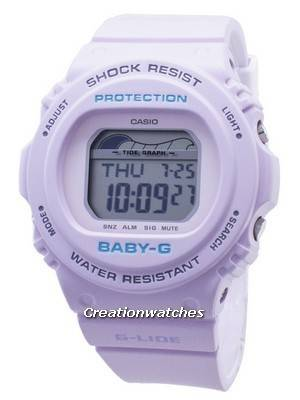 Casio Baby-G G-Lide BLX-570-6 BLX570-6 Tide Graph Shock Resistant 200M Women\'s Watch