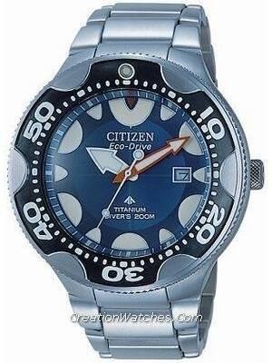 b197f1648fc Citizen Diver Eco Drive titânio BN0016 - 55L BN0016 Promaster Aqualand