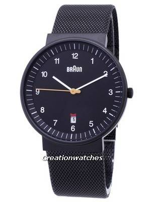 Braun Classic BN0032BKBKMHG Analog Quartz Men\'s Watch