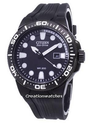 Citizen Eco-Drive BN0095-08E Analog 200M Men's Watch