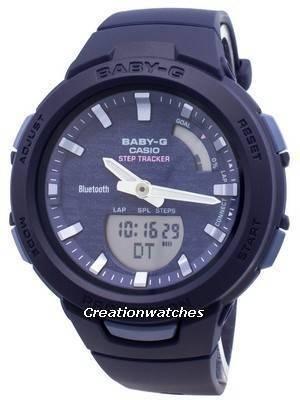 Casio Baby-G Bluetooth BSA-B100AC-2A Step Tracker Women's Watch