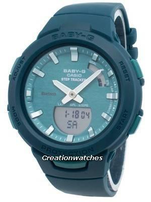 Casio Baby-G Bluetooth BSA-B100AC-3A Step Tracker Women's Watch