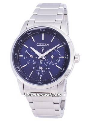 Citizen Eco-Drive GMT Analog BU2010-57L Men's Watch