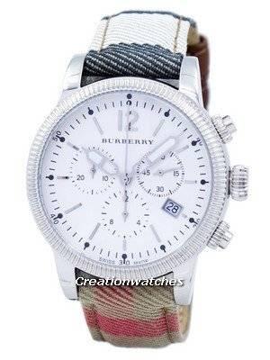 Burberry House Check Chronograph Quartz BU7820 Women's Watch