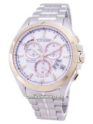 Citizen Eco-Drive BY0054-57A Titanium Radio Controlled Power Reserve Men's Watch