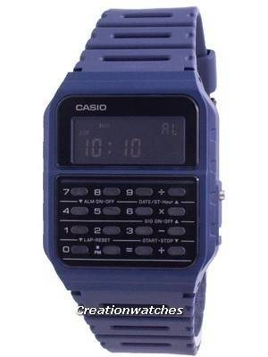 Casio Youth Data Bank Dual Time CA-53WF-2B CA53WF-2B Unisex Watch