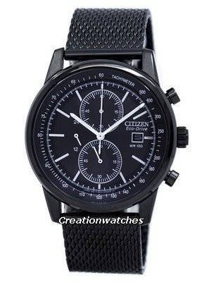 Citizen Eco-Drive Chronograph Tachymeter CA0338-57E Men\'s Watch