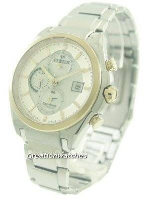 Citizen Eco-Drive Chronograph Super Titanium CA0356-55A Men's Watch