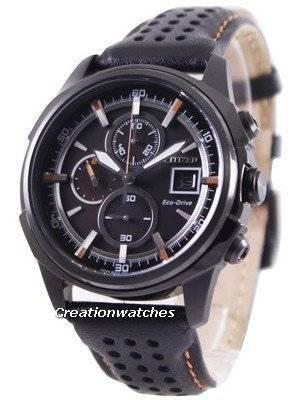 Citizen Eco Drive Leather Chronograph CA0375-00E Men's Watch