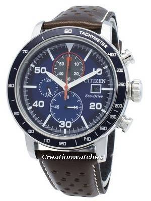 Citizen Brycen Eco-Drive CA0648-09L Chronograph Analog Men's Watch