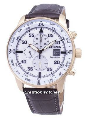 Citizen Eco-Drive CA0693-12A Chronograph Men's Watch