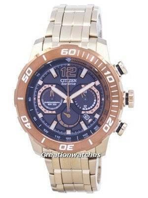 Citizen Eco-Drive Chronograph Tachymeter Analog CA4086-56E Men's Watch