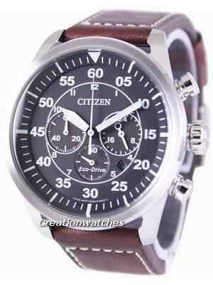 Citizen Eco-Drive Aviator Chronograph CA4210-16E Men's Watch