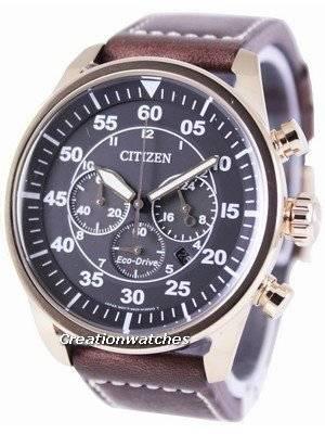 Citizen Eco-Drive Aviator Chronograph CA4213-00E Men's Watch