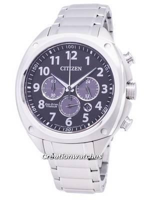 Citizen Eco-Drive CA4310-54E Super Titanium Chronograph Men\'s Watch