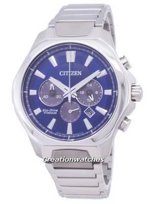 Citizen Eco-Drive CA4320-51L Titanium Chronograph Men's Watch