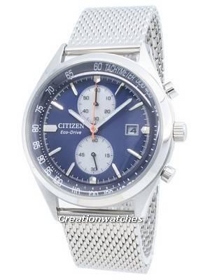 Relógio Citizen Eco-Drive Chandler CA7020-58L para homem com taquímetro