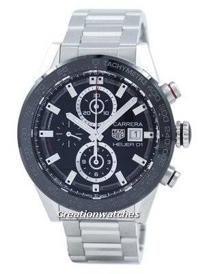 Tag Heuer Carrera Chronograph Tachymeter Automatic CAR201Z.BA0714 Men's Watch
