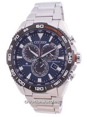 Citizen Promaster Radio Controlled World Time Eco-Drive CB5034-82L 200M Men\'s Watch