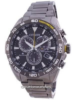 Citizen Promaster Radio Controlled World Time Eco-Drive CB5037-84E 200M Men\'s Watch