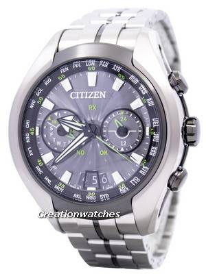 Citizen Eco-Drive Satellite Wave Air GPS Titanium Sapphire CC1054-56E Men\'s Watch