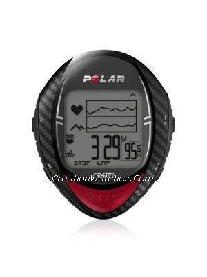 Polar Cycling Heart Rate Monitor Watch CS600
