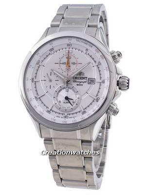 Orient Pyramid CTD0T006W TD0T006 Tachymeter Quartz Men's Watch