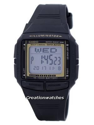 Casio Illuminator Multi-Lingual Databank Digital DB-36-9AV DB36-9AV Men's Watch