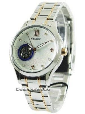 Orient Happy Stream Collection Blue Moon Open Heart DB0A006W Women's Watch