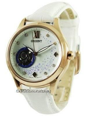 Orient Happy Stream Collection Blue Moon Open Heart DB0A008W Women's Watch