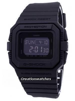 Casio G-Shock DW-D5500BB-1 DWD5500BB-1 Quartz Digital 200M Men's Watch