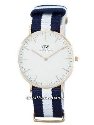 Reloj para mujer Daniel Wellington Classic Glasgow Quartz DW00100031 (0503DW)