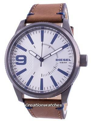 Diesel Rasp NSBB Silver Dial Quartz DZ1905 Men\'s Watch