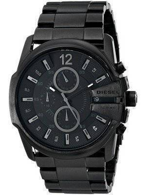 Diesel Master Chief Chronograph Black Dial DZ4180 Men's Watch