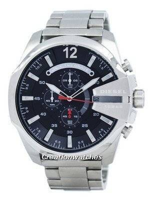 Diesel Mega Chief Quartz Chronograph Black Dial DZ4308 Men's Watch