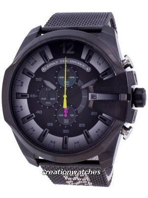 Diesel Mega Chief DZ4514 Quartz Chronograph Men\'s Watch
