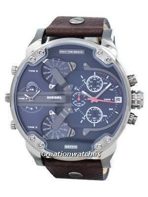 Diesel Mr. Daddy 2.0 Four Time Zone DZ7314 Men's Watch