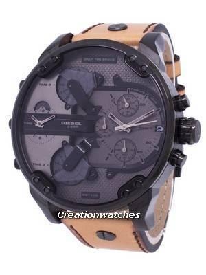 """Diesel Mr.Daddy 2.0 """"Only The Brave"""" Chronograph Quartz DZ7406 Men's Watch"""