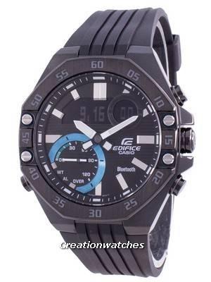 Casio Edifice Smartphone Link World Time Quartz ECB-10PB-1A ECB10PB-1A 100M Men\'s Watch